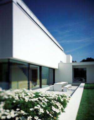 terrasse - House Philipp par Philipp Architekten - Waldenburg, Allemagne