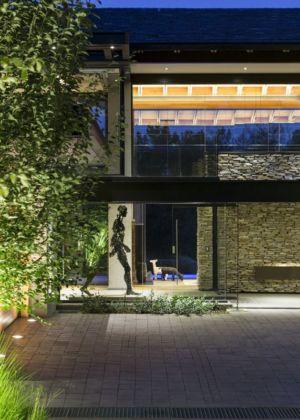 terrasse - House-in-Blair-Atholl par Nico van der Meulen Architectes - Johannesburg, Afrique du Sud