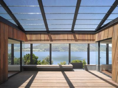 terrasse - House in Futrono par Cristián Izquierdo Lehmann - Chili