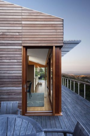 terrasse - Kentfield Residence par Turnbull Griffin Haesloop Architects - Kentfield, Usa
