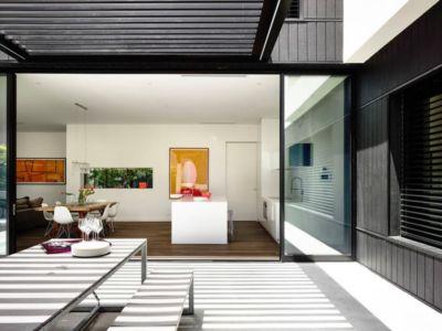terrasse - Kew House par Amber Hope Design - Melbourne, Australie