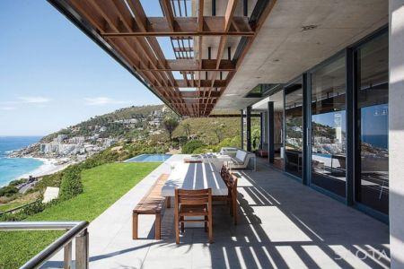 terrasse - Kloof 151 par SAOTA - Clifton, Afrique du Sud