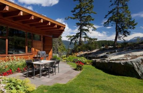 terrasse - Lakecrest Residence by aka Architecture + Design - Whistler, Canada