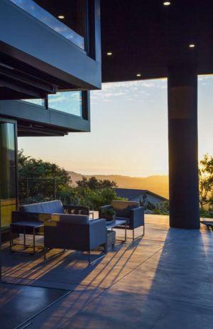 terrasse - Las Canoas par Thompson Naylor Architects - Santa Barbara, CA, Usa