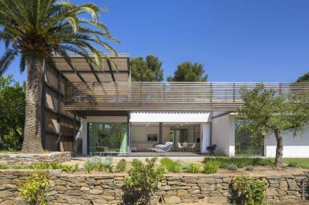 terrasse - Maison L2 par Vincent Coste - Saint-Tropez, France