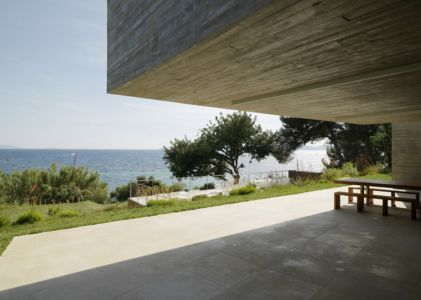 terrasse - Maison Le Cap par Pascal Grasso - Var, France
