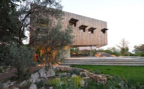 terrasse - Maison Spirale par Portal Thomas Teissier Architecture - Catelnau Le Lez, France
