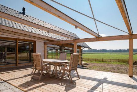 terrasse - Maison bois par BIRO GASPERIC - Velesovo, Slovenia