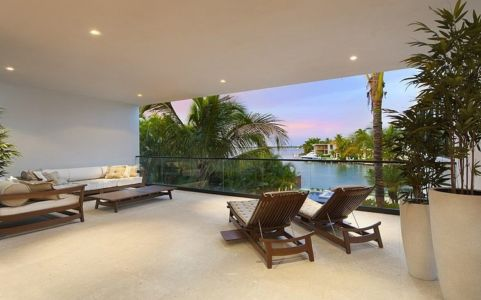 terrasse - Miami Beach Residence par New Stone Age - Miami Beach, Usa