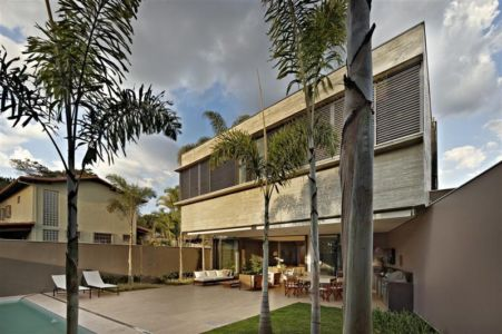 terrasse - Modern Residence par Anastasia Architects- Belo Horizonte, Brésil -Photo Jomar Bragança