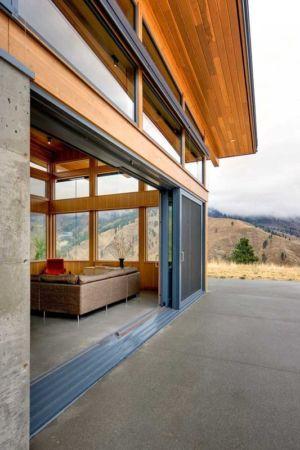 terrasse - Nahahum Canyon House par Balance Associates - Nahahum Canyon, Usa