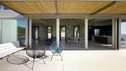terrasse - Notre Ntam' Lesvos Residences par Z-level à Agios - Fokas, Grèce