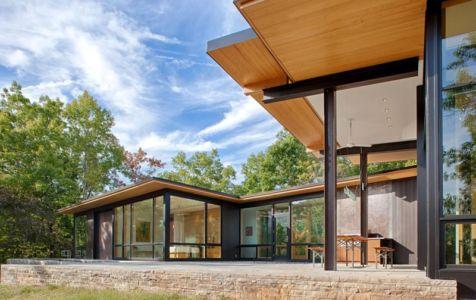 terrasse - Piedmont Residence par Carlton Architecture - Asheville, Usa