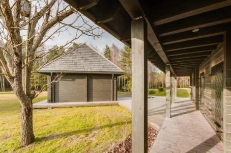 terrasse - Ranch par Aketuri Architekai - Lituanie