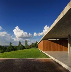 terrasse - Redux House par Studio mk27 - Brésil