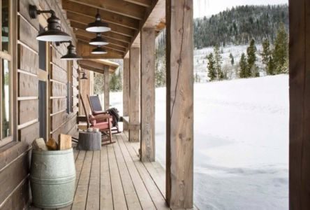 terrasse - Rocky Mountain retraite par Beck Building Company - Aspen Springs, Usa