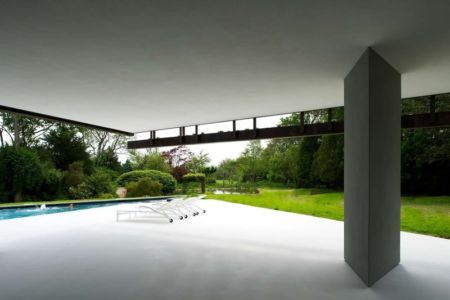 terrasse - Sayres House and Hanging Gardens par Maziar Behrooz Architecture - East Hampton, Usa