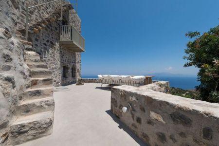 terrasse - Sterna Nisyros par  Giorgos Tsironis - Nisyros en Grèce