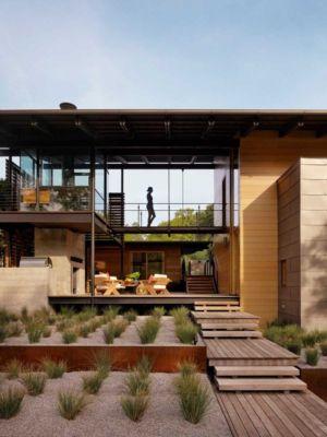 terrasse - The Hog Pen Creek Residence par LakeFlato - Austin, Usa