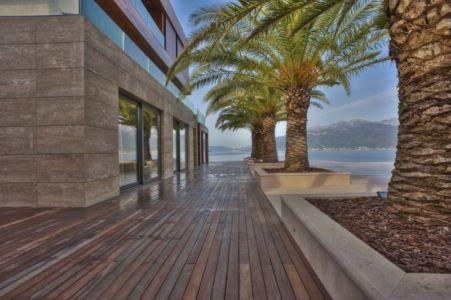terrasse - Touristic Villa 'S, M, L' par studio SYNTHESIS - Tivat, Montenegro