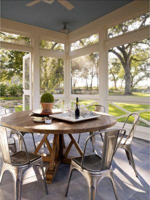 terrasse - Transitional Farmhouse Design par Total Design - Calistoga, Californie, Usa