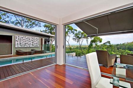 terrasse - Treetops Residence par Artas Architects & D Pearce Constructions - Toowong, Australie