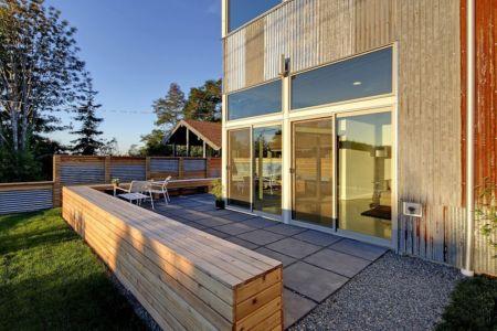 terrasse - Unique Reclaimed Modern par Dwell Development LLC - Seattle, Usa