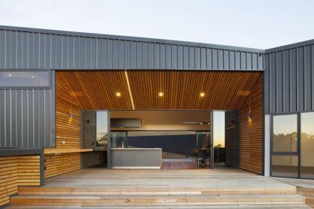 terrasse - Valley House par Philip M Dingemanse - Launceston, Australie