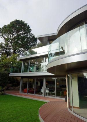 terrasse - Ventura House par David James Architectes - Dorset, Royaume-Uni