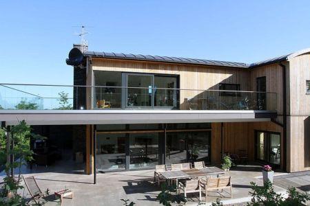 terrasse - Villa E par Stringdahl Design - Suède