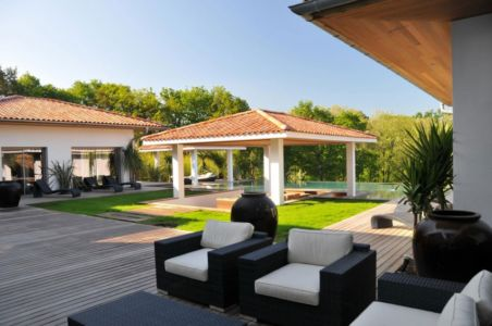 terrasse - Villa Hermitage - Arbonne, France