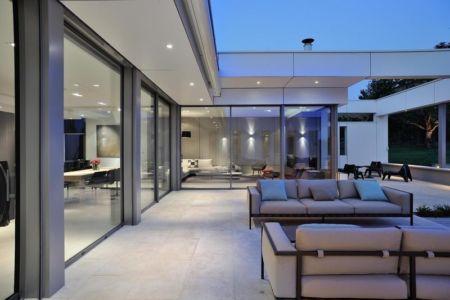 terrasse - Villa Wa par Laurent GUILLAUD - France