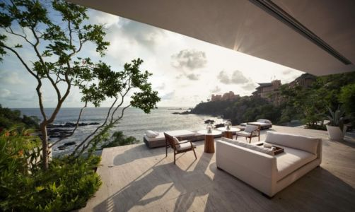 terrasse - Villas Finestre par CC ARQUITECTOS - Mexique - Photo Rafael Gamo & Yoshihiro Koitani