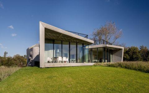 terrasse - W.I.N.D House par UNStudio - Pays-Bas