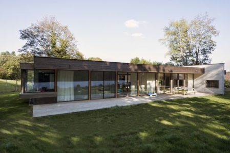 terrasse - War house par A+B architectes - Montmorency, France