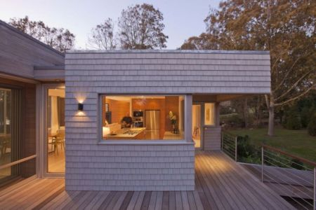terrasse - Westport River House par Ruhl Walker Architects - Massachusetts, USA