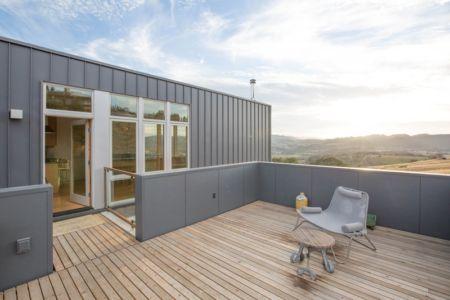 terrasse étage - Cloverdale par Elemental Architecture - Usa - Jaime Kowal Photography