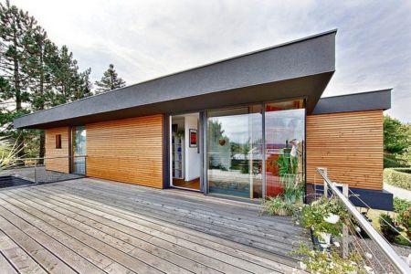 terrasse étage - House W par Studio Prototype - Duiven, Pays-Bas