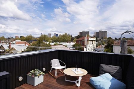 terrasse étage - Hunter Street Home par ODR Architects - Australie