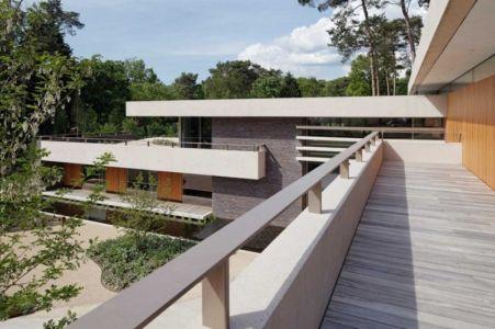 terrasse étage et aile - The Dune Villa par HILBERINKBOSCH Architects - Utrecht, Pays-Bas
