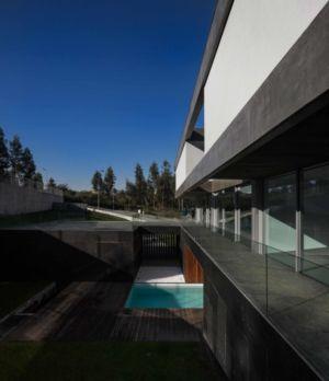terrasse balcon - BE House par Spaceworkers - Paredes, Espagne