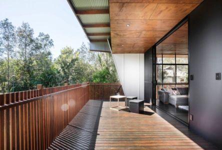 terrasse balcon - Northern Rivers Beach House par Refresh Architecture - South Golden Beach, Australie