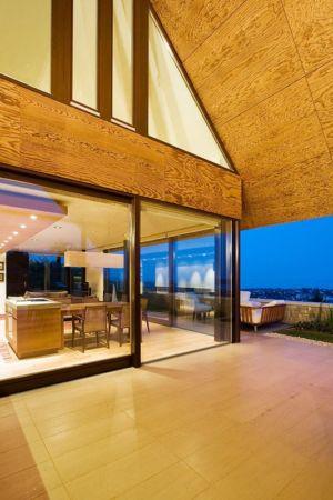 terrasse balcon - Villa du lac Balaton par FBI studio - Balatonfüred, Hongrie