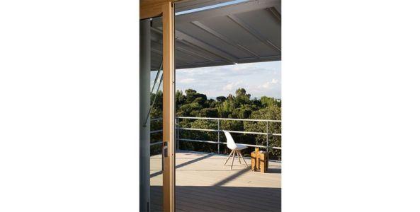 terrasse balcon bois - Spaceship Home par Noem Spaceship - Madrid, Espagne