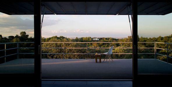 terrasse balcon & vue panoramique paysage - Spaceship Home par Noem Spaceship - Madrid, Espagne