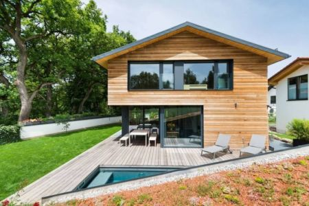 façade terrasse bois - despang par Despang Schlüpmann Architekten - Allemagne