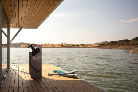 terrasse bois - floating-house par Friday - Portugal