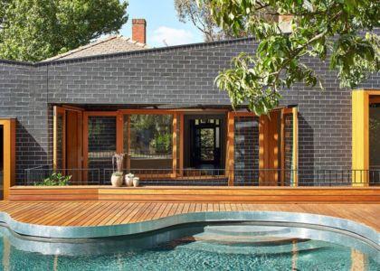 terrasse bois & piscine - rosebank-make par MAKE - Melbourne, Australie