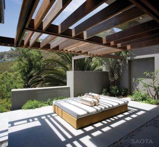 terrasse coin sofa - Kloof 151 par SAOTA - Clifton, Afrique du Sud