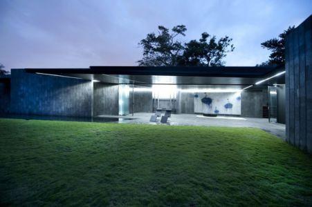 terrasse de nuit - Casa Altamira par Joan Puigcorbé - Costa Rica